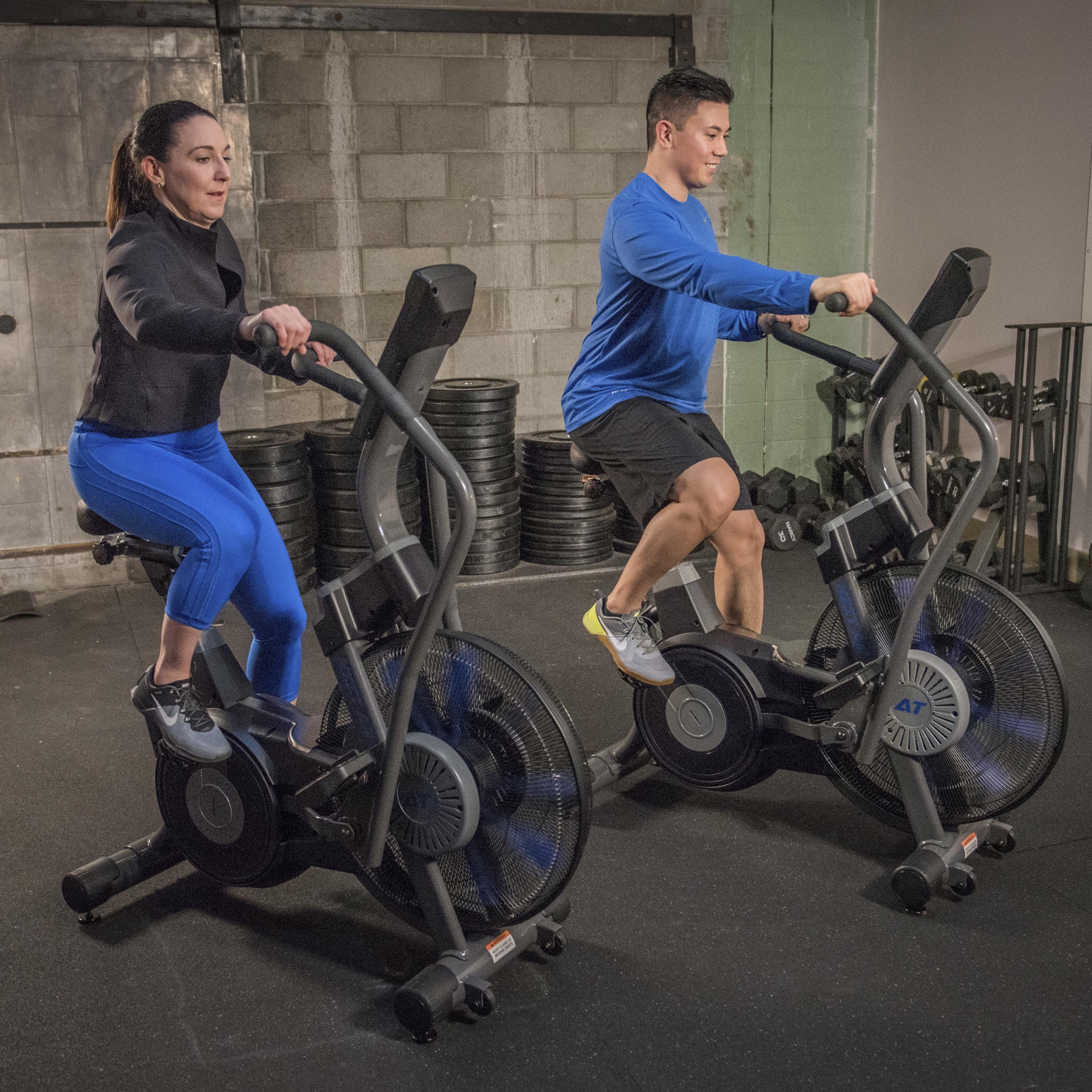 AirTEK Fitness HIIT AirBike Group Workout