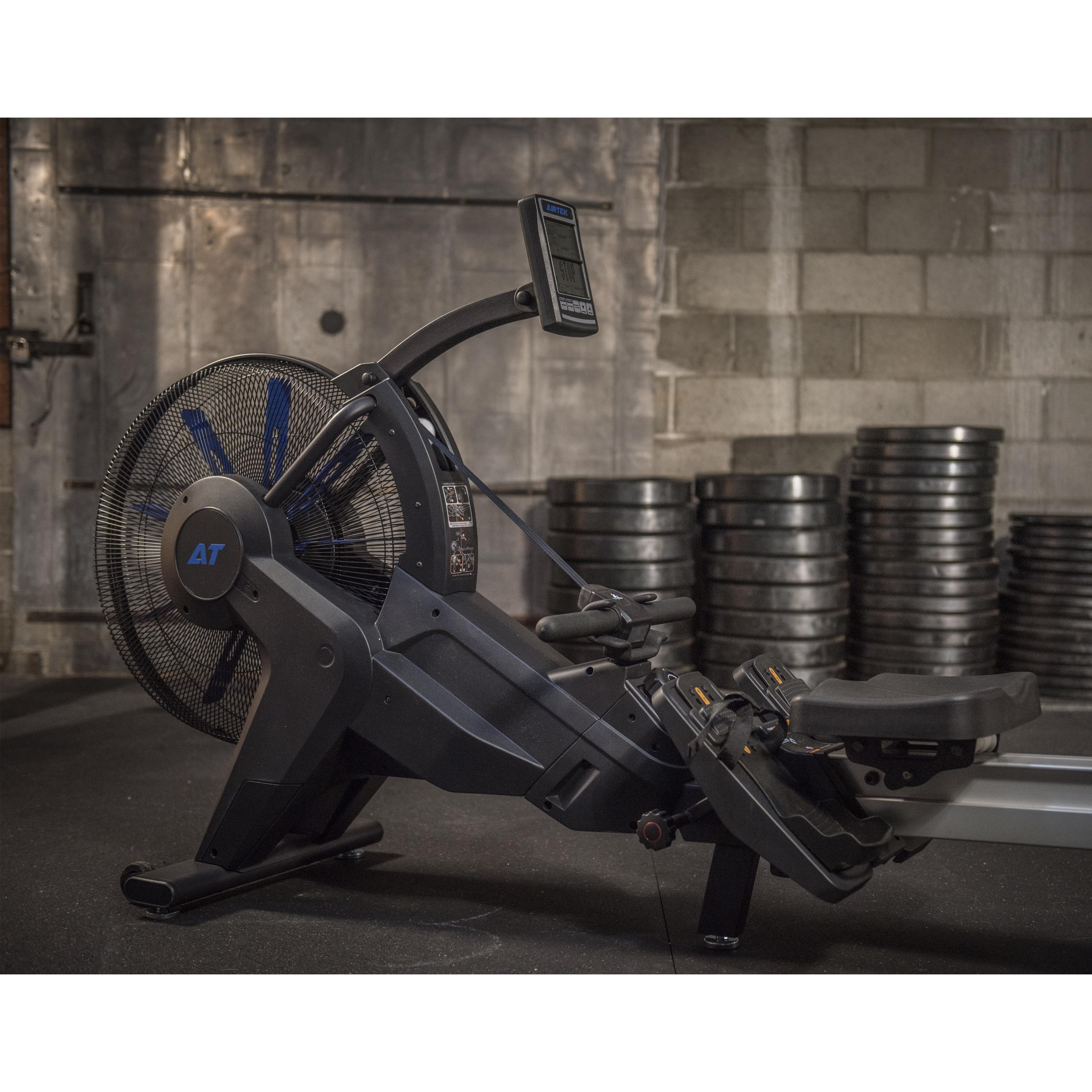AirTEK Fitness HIIT Air and Magnetic Rower Indoor Main