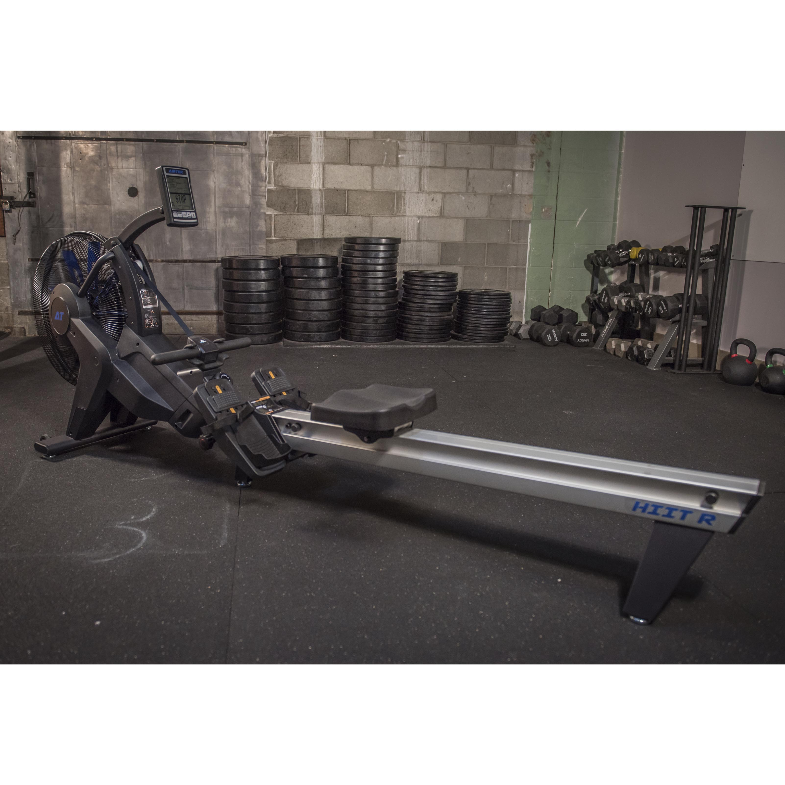 AirTEK Fitness HIIT Air and Magnetic Indoor Rower