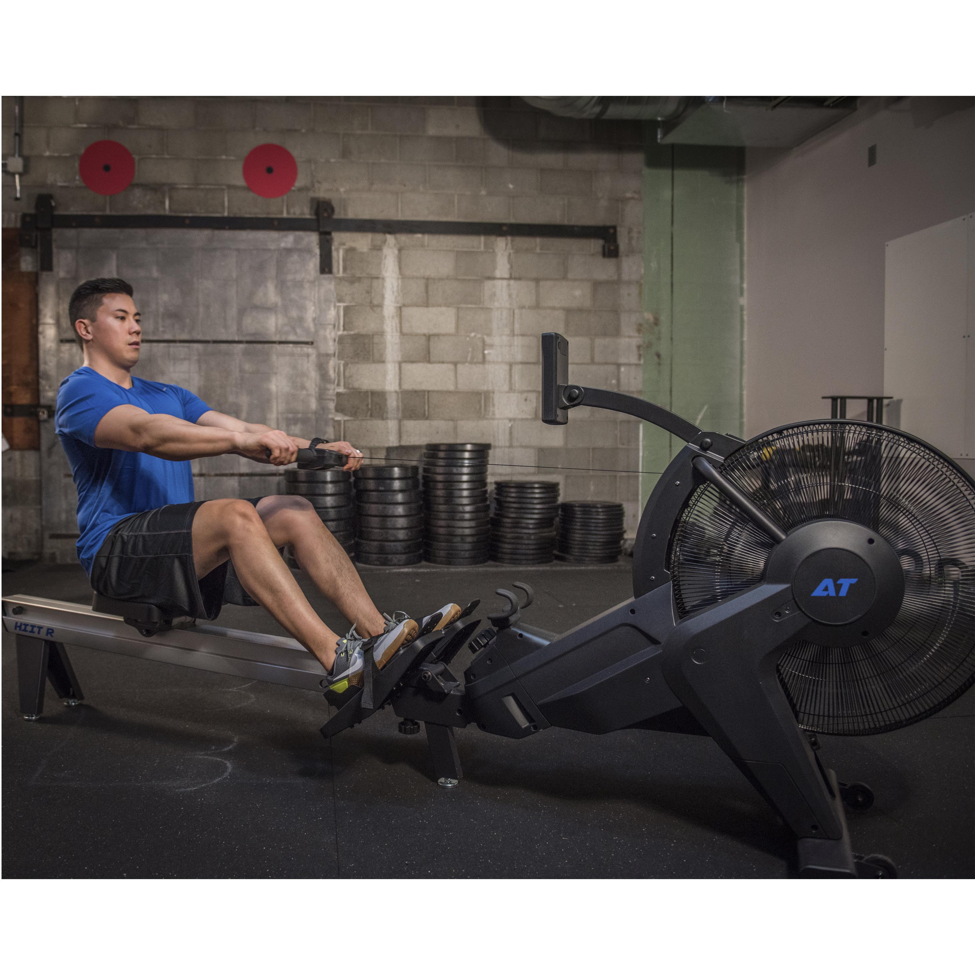 AirTEK Fitness HIIT Air and Magnetic Rower Model