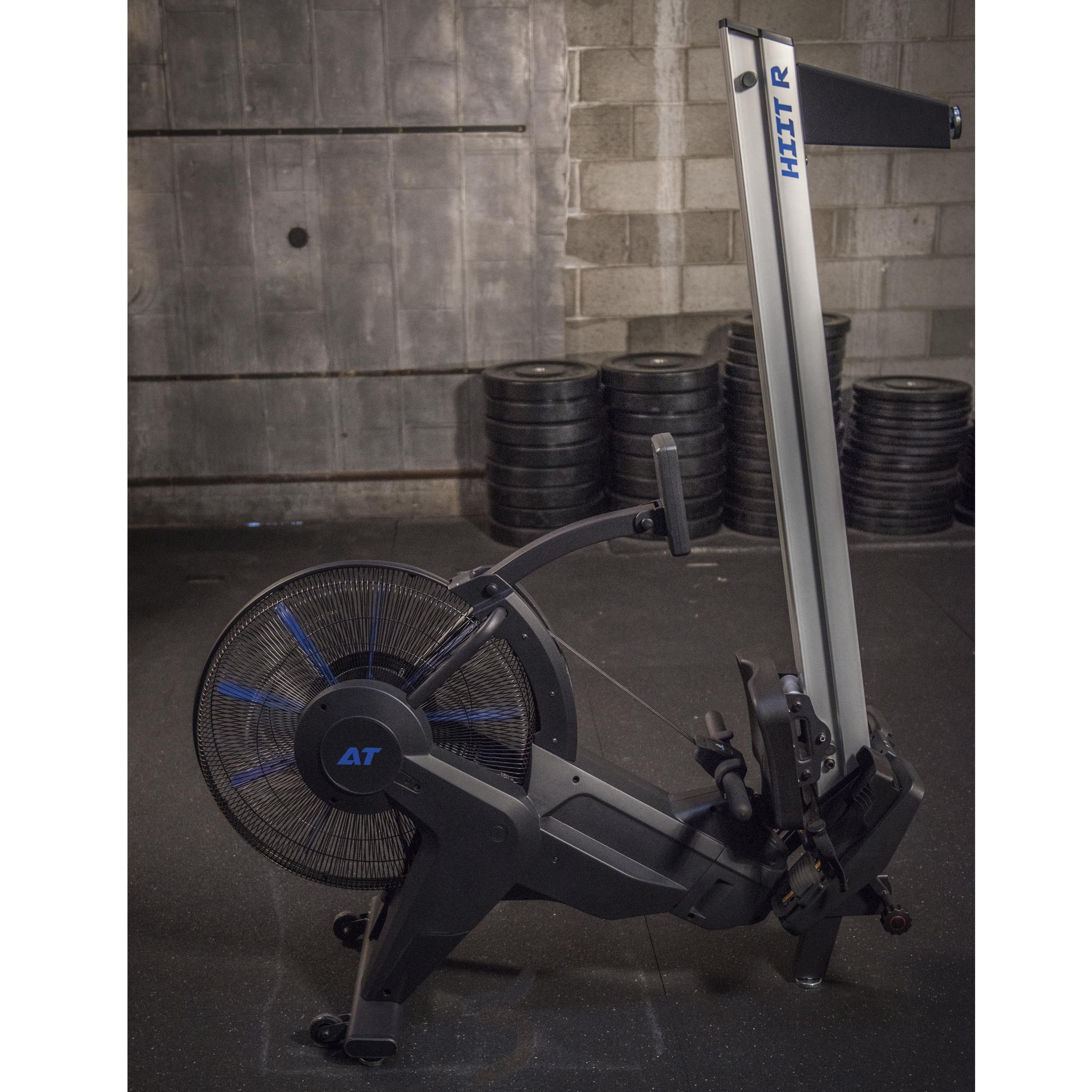 AirTEK Fitness HIIT Air and Magnetic Rower Stored