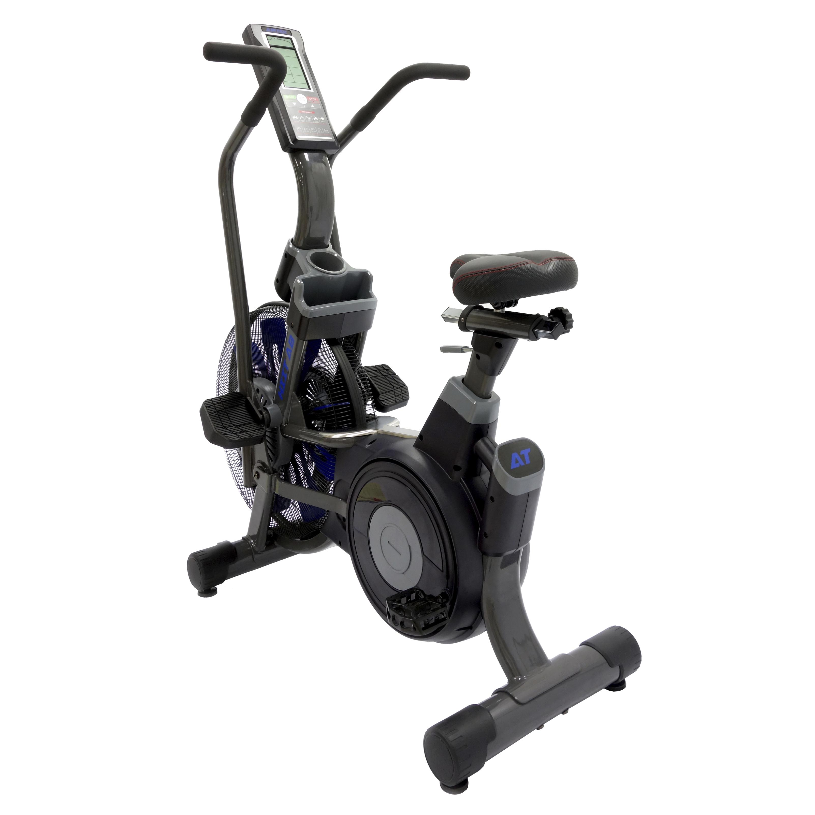 AirTEK Fitness HIIT Air Bike Back