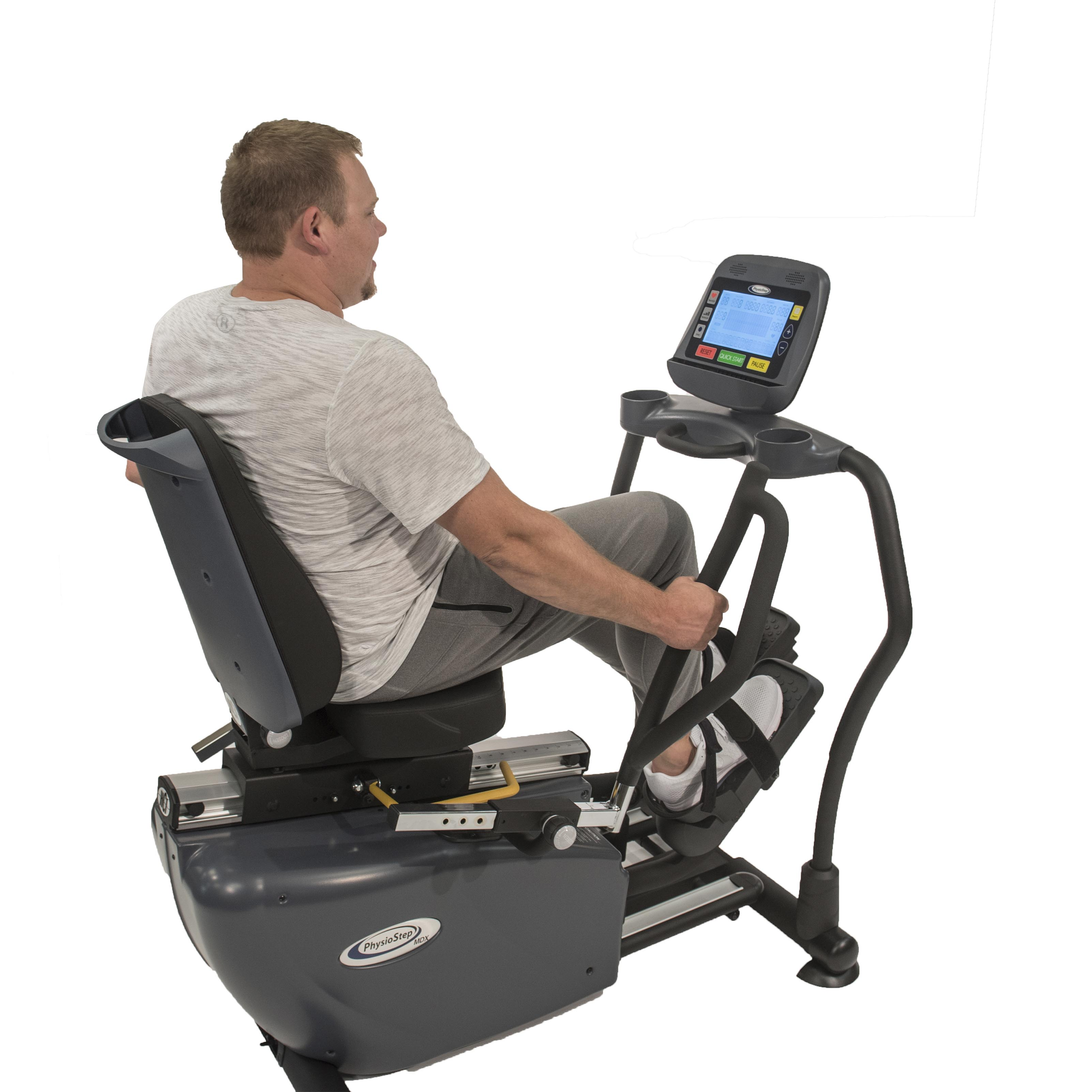 PhysioStep MDX Recumbent Elliptical Model