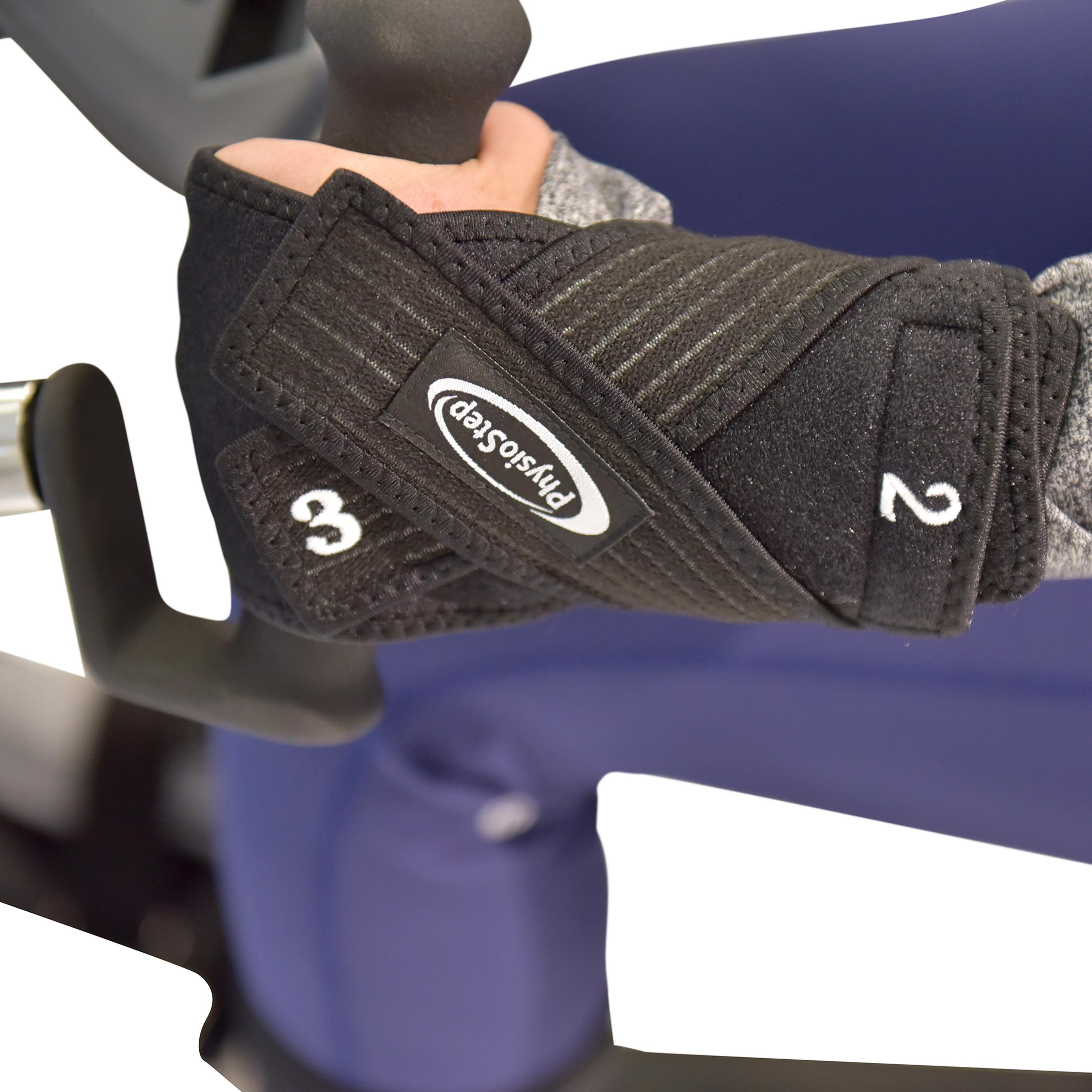 Optional PhysioStep Hand Grip Stabilization Kit