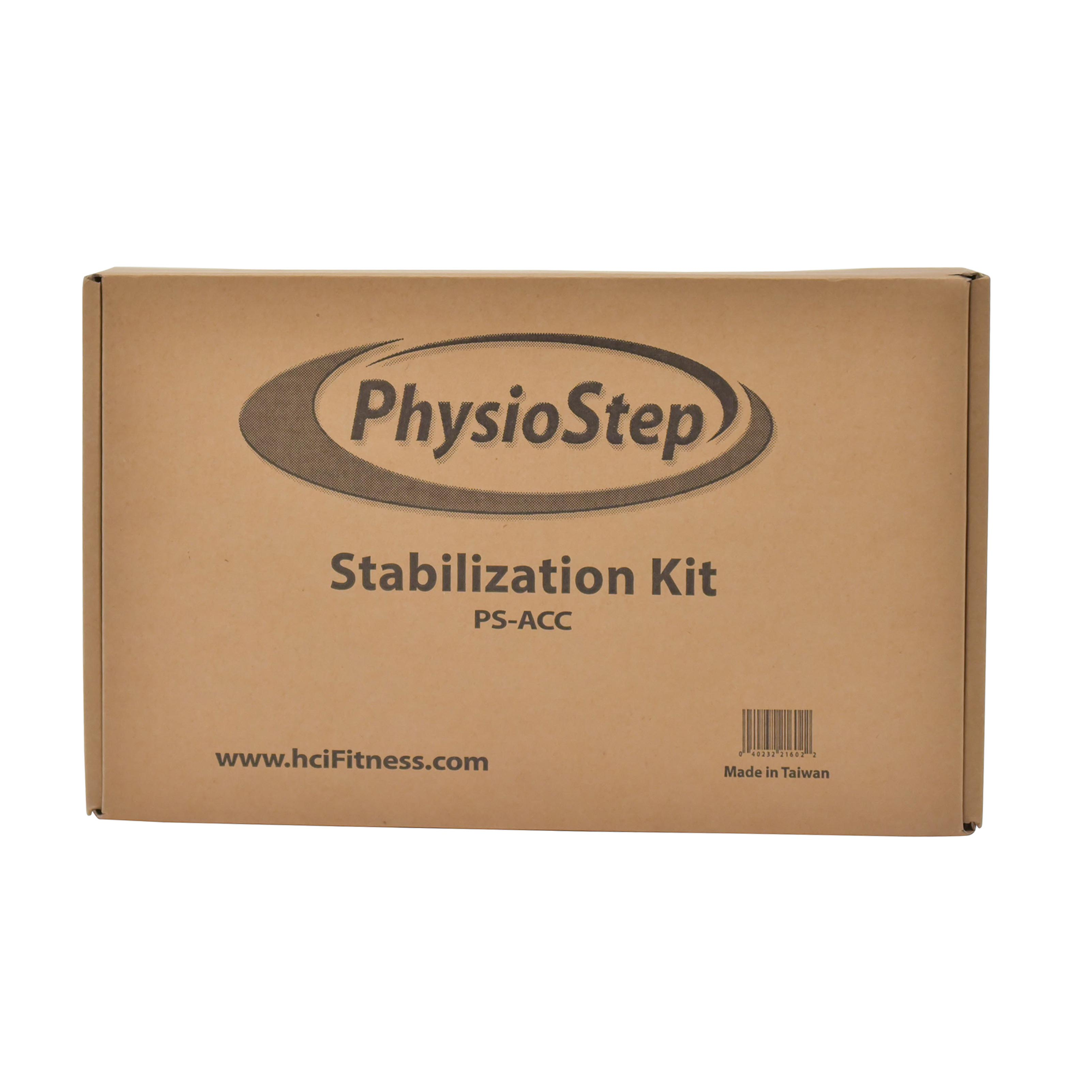PhysioStep Stabilization Kit bi-lateral leg stabilizers, hand grips, and retractable seat belt