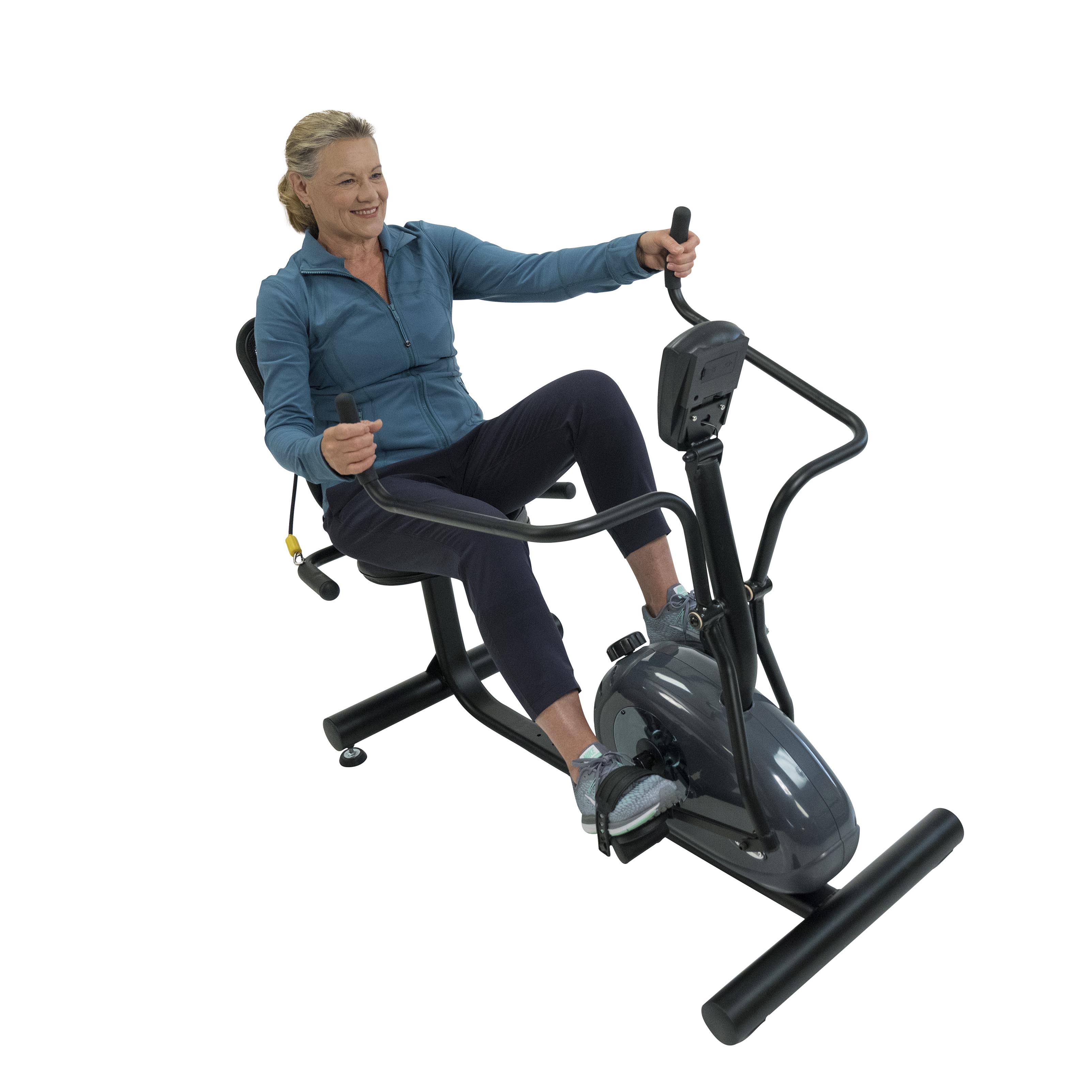 PhysioTrainer CXT Recumbent Cross Trainer for Seniors No Assembly Required