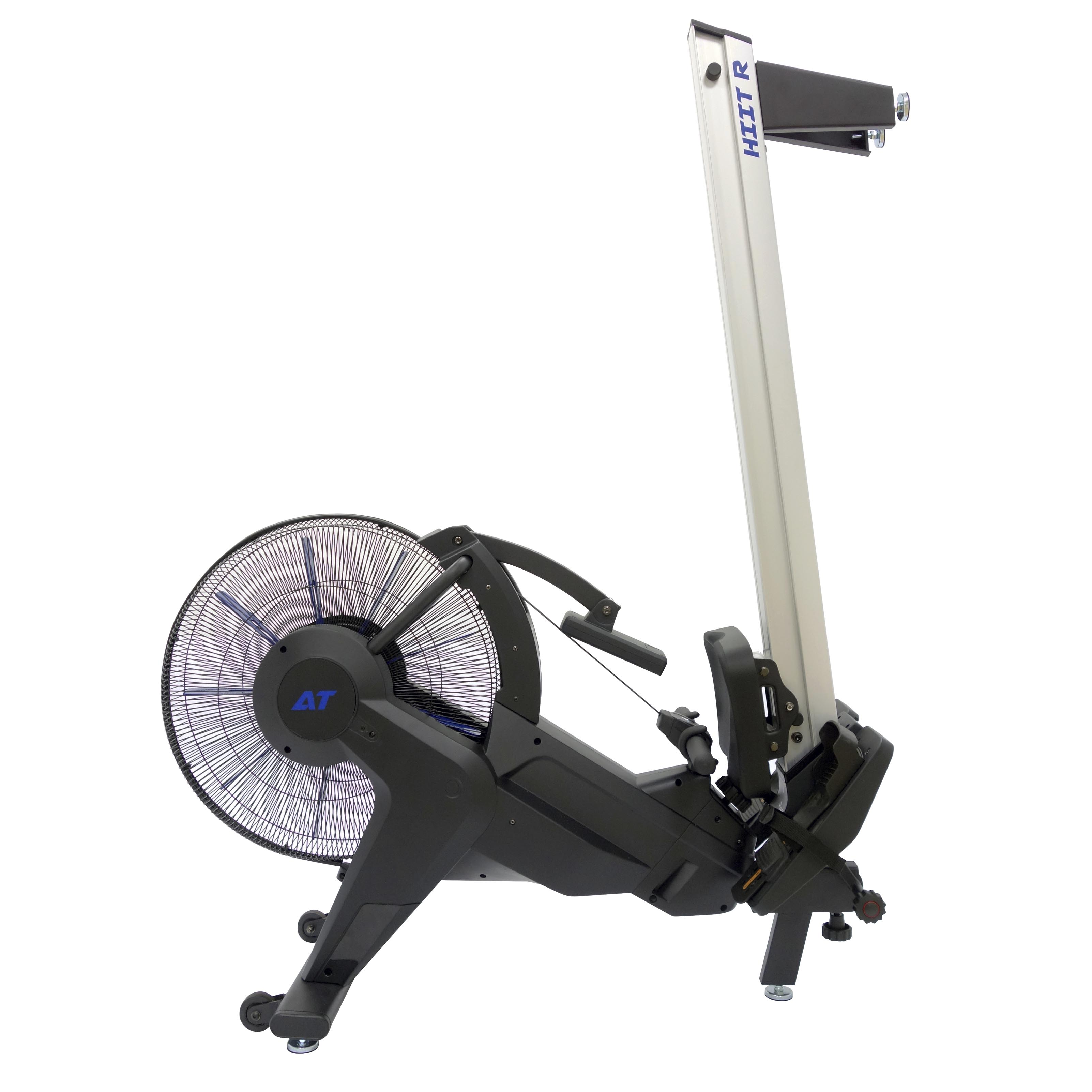 AirTEK Fitness HIIT Air and Magnetic Rower Easy Storage
