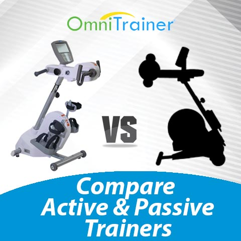 OmniTrainer Active and Passive Exercise Machine comapred to MOTOmed Viva 2 Active Passive Exercise Machine