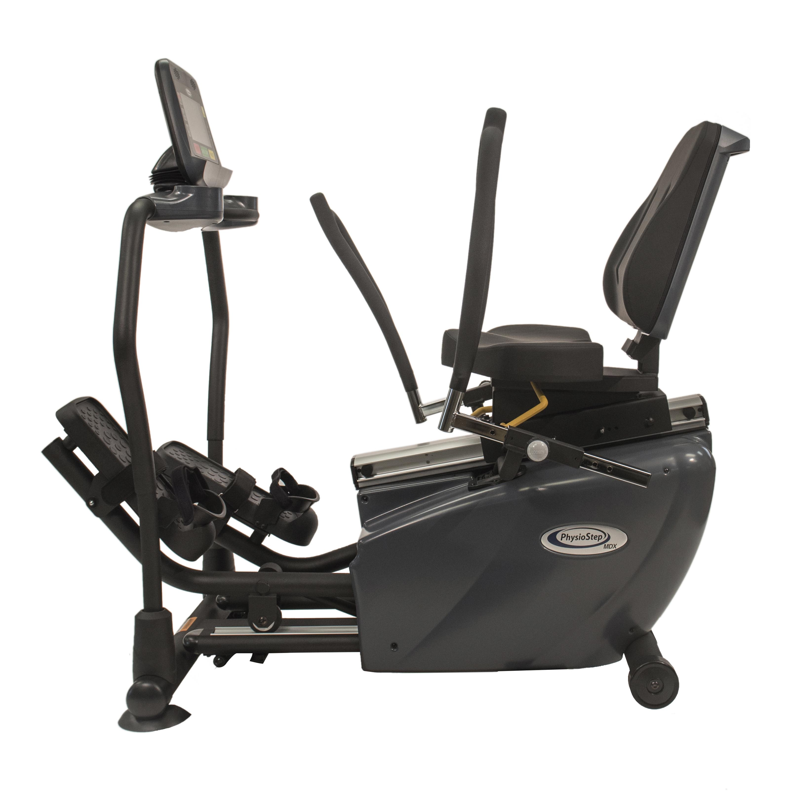 PhysioStep MDX Recumbent Elliptical Side
